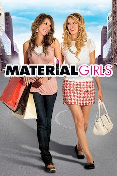 Material Girls movie poster.