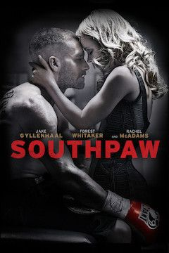 Southpaw movie poster.