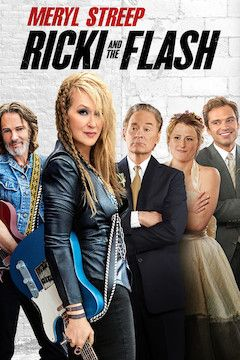 Ricki and the Flash movie poster.