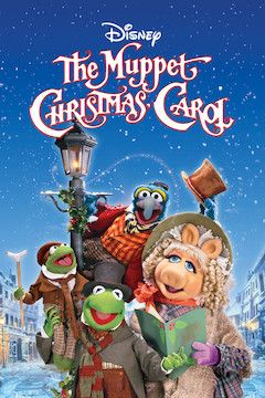 The Muppet Christmas Carol movie poster.
