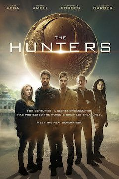 The Hunters movie poster.
