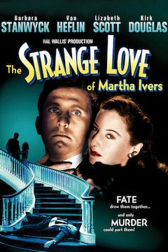 The Strange Love of Martha Ivers movie poster.