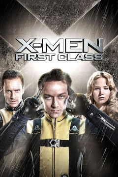 X-Men: First Class movie poster.