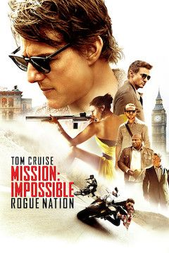 Mission: Impossible - Rogue Nation movie poster.