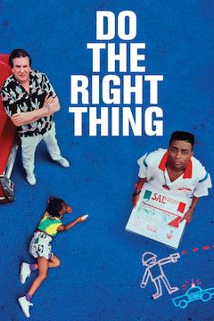 Do the Right Thing movie poster.