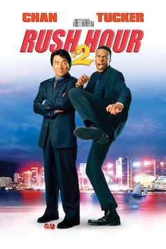 Rush Hour 2 movie poster.