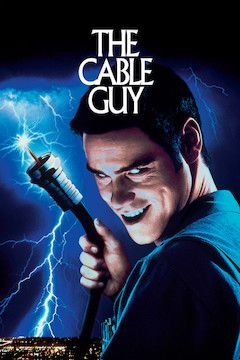 The Cable Guy movie poster.