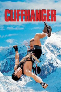 Cliffhanger movie poster.