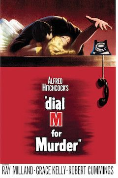 Dial M for Murder movie poster.
