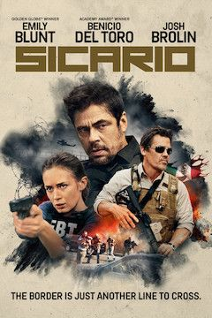Sicario movie poster.