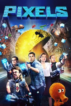 Poster for the movie Pixels