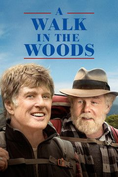 A Walk in the Woods movie poster.