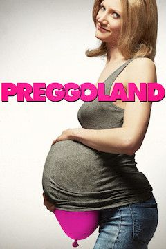 Preggoland movie poster.