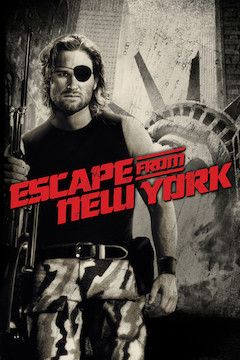 Escape From New York movie poster.