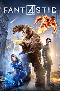 Fantastic Four movie poster.