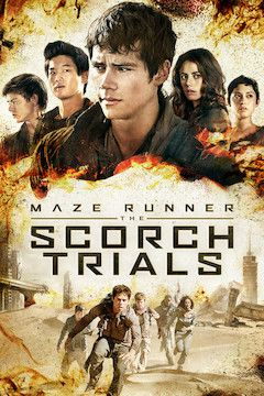 Maze Runner: The Scorch Trials movie poster.