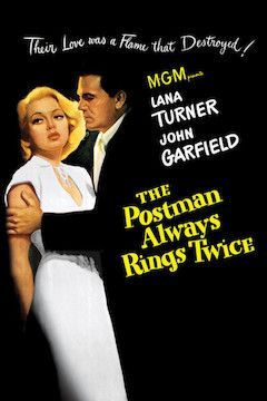 Poster for the movie The Postman Always Rings Twice