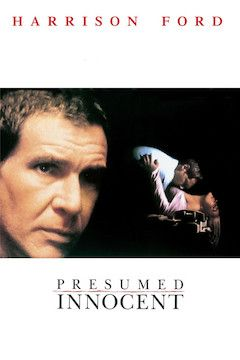 Presumed Innocent movie poster.
