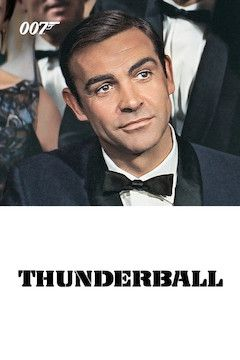 Thunderball movie poster.