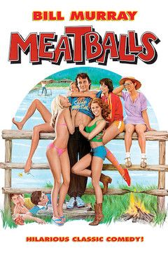 Meatballs movie poster.