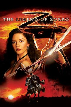 The Legend of Zorro movie poster.