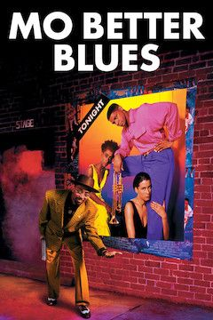 Mo' Better Blues movie poster.