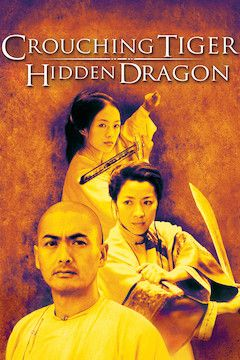 Crouching Tiger, Hidden Dragon movie poster.