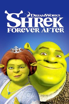 Shrek Forever After movie poster.