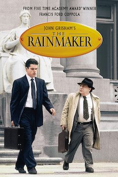 The Rainmaker movie poster.