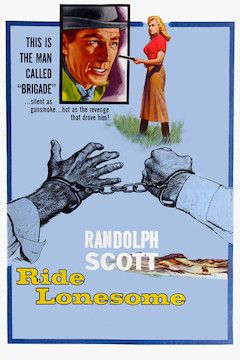 Ride Lonesome movie poster.