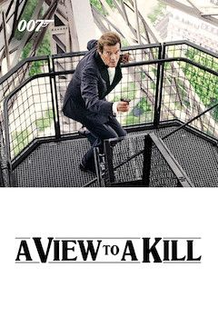 A View to Kill movie poster.