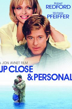 Poster for the movie Up Close and Personal