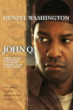Poster for the movie John Q.