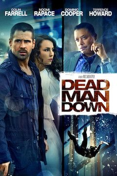 Dead Man Down movie poster.