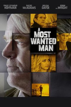 A Most Wanted Man movie poster.