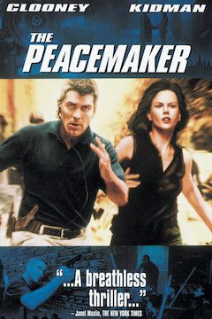 The Peacemaker movie poster.