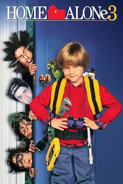 Home Alone 3 movie poster.