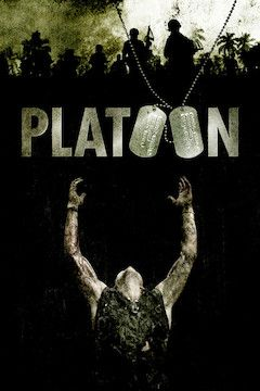 Platoon movie poster.
