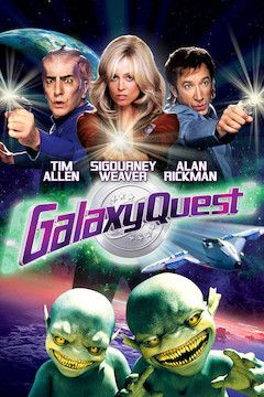 Galaxy Quest movie poster.