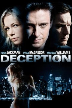 Deception movie poster.