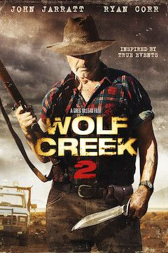 Wolf Creek 2 movie poster.