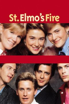 St. Elmo's Fire movie poster.