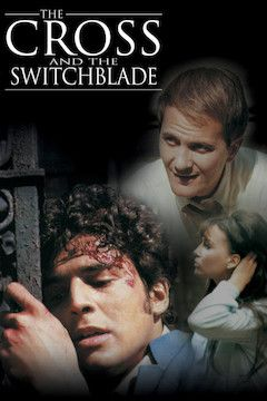 The Cross and the Switchblade movie poster.