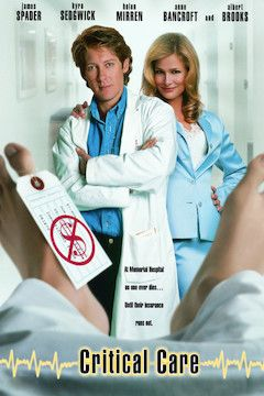 Critical Care movie poster.