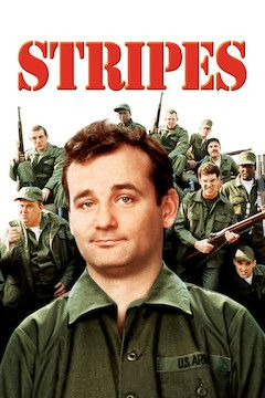 Stripes movie poster.