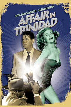 Affair in Trinidad movie poster.