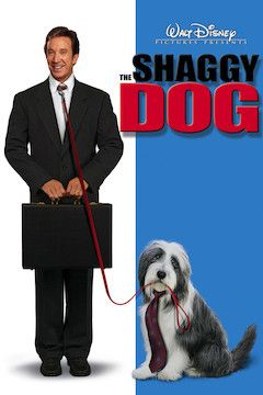 The Shaggy Dog movie poster.