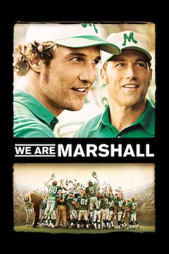 Poster for the movie We Are Marshall