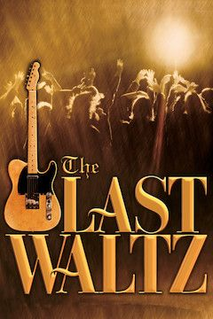 The Last Waltz movie poster.