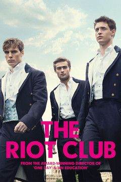 The Riot Club movie poster.